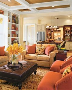 Cozy And Romantic Living Room 1119