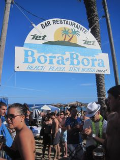 Bora-Bora Beach Party in Ibiza