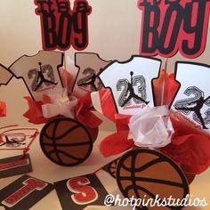 Air Jordan Baby Onesies Centerpieces