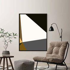 Quadro Decorativo Geométrico Geometric 3d, Geometric Painting, Oil Painting Abstract, Abstract Art, Gold Leaf Art, Visual Aesthetics, Bedroom Art, Diy Wall Art, Acrylic Art