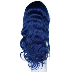 This gorgeous Sapphire Blue Lace Front Body Wave style wig help you make a bold statement! * Density * Available – * Human Hair * Light Lace * Natural Hairline * Body Wave Style Blue Lace Front Wig, Lace Front Wigs, Lace Wigs, U Part Wig, Colored Wigs, Body Wave Wig, Hair Extensions Best, Natural Hair Styles, Long Hair Styles