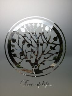 Levensboom - Tree of Life - Raamfolie