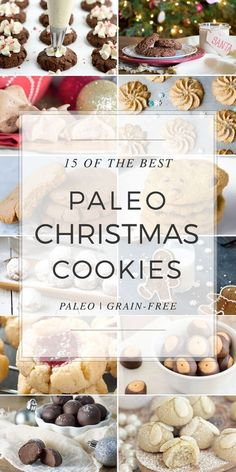 "We've gathered a list of the top 15 Paleo Christmas Cookies for you to try this holiday season. Gingerbread, ""Sugar"", Chocolate, Spritz, truffles and more."