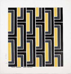 Florence Broadhurst - I can see a whole room in this pattern
