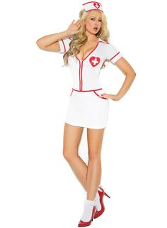 Heart Throb Hottie  http://starletlingerie.com/products/heart-throb-hottie-costume  #costumes #halloween #dressup #nurse