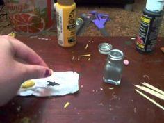 How To Make Miniature Dollhouse Pencils