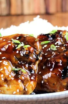 Low FODMAP Recipe and Gluten Free Recipe - Teriyaki chicken http://www.ibs-health.com/low_fodmap_teriyaki_chicken.html
