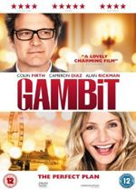 DVD: GAMBIT. An art curator plans to con his abusive ex-boss into buying a fake Monet. Starring Colin Firth, Cameron Diaz, Alan Rickman, Tom Courtenay, Stanley Tucci.