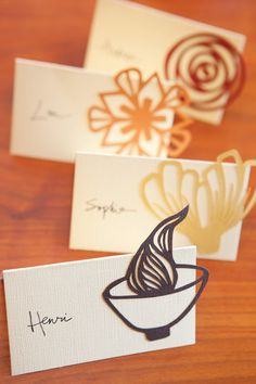 How To Make Cut Paper Place Cards Apartment Therapy Tutorials | Apartment Therapy