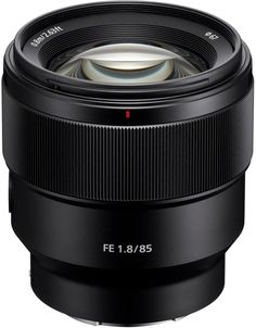 Sony - FE 85mm f/1.8 Telephoto Lens for Sony E-mount