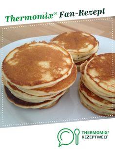Original amerikanische Pancakes, die Besten die ich je gegessen habe von Abel. Ein Thermomix ®️️ Rezept aus der Kategorie Backen süß auf www.rezeptwelt.de, der Thermomix ®️️ Community.