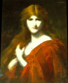 The Redhead  Jean Jacques Henner