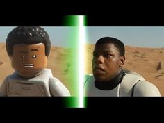 LEGO Star Wars: The Force Awakens Trailer Comparison - YouTube