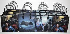 BATMAN VS SUPERMAN CANDY BAGS LOOT/GOODY BAGS PARTY BAGS GIFT FAVOR BAGS 12PC #DCCOMICS #BirthdayChild
