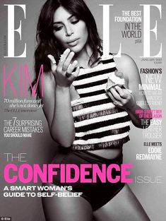 Kim Kardashian graces the cover this month of ELLE UK. See what we mean in this article and its affiliated Kim Kardashian. Estilo Kardashian, Kourtney Kardashian, Kardashian Style, Kardashian Jenner, Kardashian Family, Kim Kardashian Photoshoot, Kendall Jenner, Kim K Style, Elle Magazine