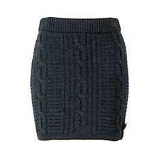 fisherman knit sweater skirt