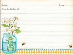 SusieQTpies Cafe: {Freebies for Mom} Gooseberry Patch 3 Free Recipe Card Printables Printable Recipe Cards, Printable Labels, Free Printables, Recipe Printables, Gooseberry Patch Cookbooks, Envelopes, Recipe Scrapbook, Recipe Binders, Card Book