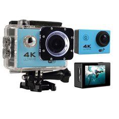 eCostConnection 4K Ultra HD 16MP WiFi Waterproof Sports Action Camera (Blue) #eCostConnection