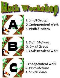 This could be used during math workshop or station time. You could have 3  predetermined