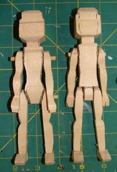 Sara Cole's Wooden Hitty Doll Blanks