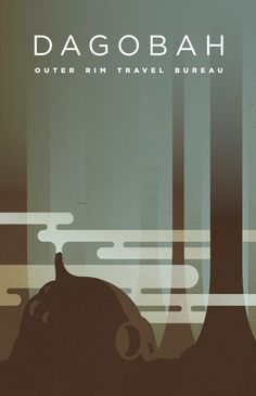 Komboh – Star Wars Travel Posters