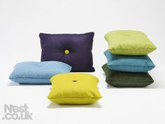 HAY pure wool cover cushions #design #decor