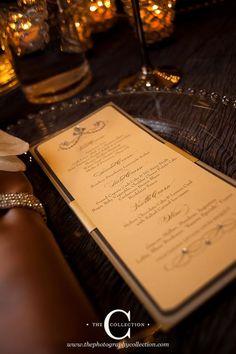 #Wedding #Menu Designed by @createmepapered