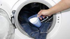 Tvättmaskin. Ja, tvättmaskinen behöver också rengöras i bland. Här bjuder vi på enklaste knepet!