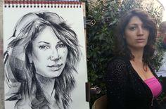Ritratto dal vero | Altamiradecor, bottega d'arte di Franco Pagliarulo