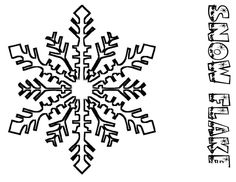 snowflake coloring pages for kids christmas snowflake coloring