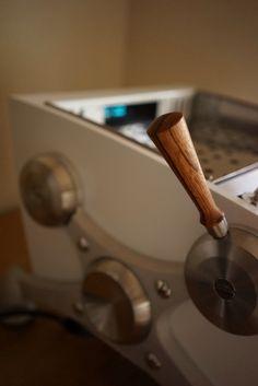 Zebra wood handle