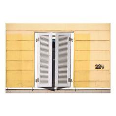 Closed window shutter photo print - retro gifts style cyo diy special idea