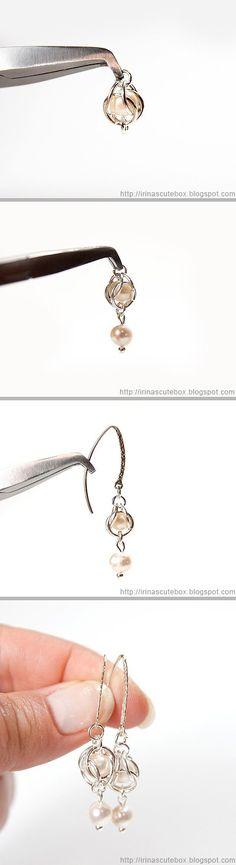 irinascutebox.blo...    Tutorial how to make dangling earrings with