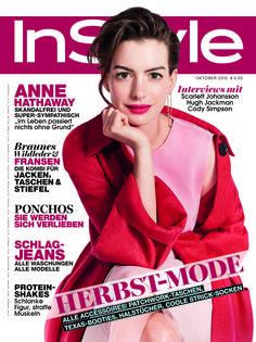 Das neue Heft - InStyle Oktober 2015 mit Covergirl Anne Hathaway