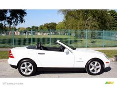 Polar White 1998 Mercedes-Benz SLK 230 Kompressor Roadster Exterior Photo #57268067