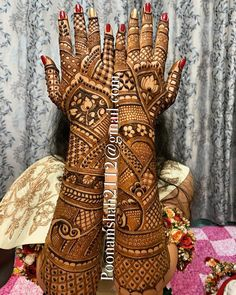 Henna is the most traditional part of weddings throughout India. Let us go through the best henna designs for your hands and feet! Engagement Mehndi Designs, Latest Bridal Mehndi Designs, Mehndi Designs 2018, Dulhan Mehndi Designs, Wedding Mehndi Designs, Mehendi, Mehandi Designs, Henna Mehndi, Heena Design