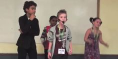 Transgender kids raps about coming out to his mom at a camp for gender variant children