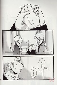 Hetalia Axis Powers BL Doujinshi - In Those Beautiful Days (Friedrich II x Prussia)