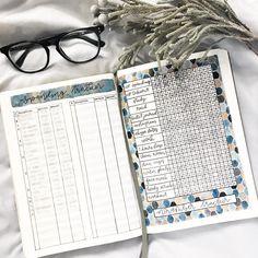 bujo bullet journal spending tracker idea money saving financial expenses income