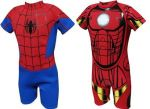 Item of the day: Spiderman and Iron Man wetsuits from Amazon
