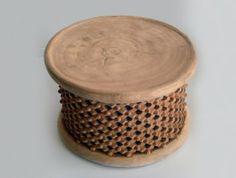 Bamileki Table (Natural)   Craft Enterprises
