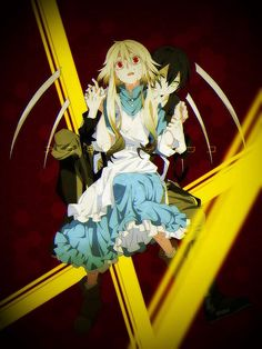 Mary from Outer Science/ Mekakucity Actors ( my sister will cosplay Konoha)