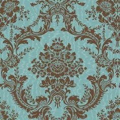 Love this wallpaper for the small wall in the living room.