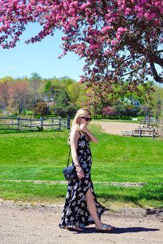 Maxi dress at 17 weeks! | Sparkling Footsteps