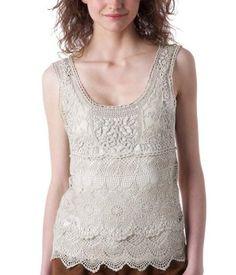 1fcc7da7e0a3f sleeveless crochet   lace top from promod
