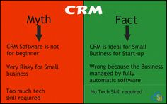 Top Concern about #myth and #facts of #CRM for Small Business Enterprise