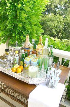 refreshing bar display