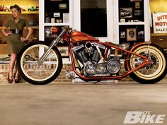 Great looking Indian Powered Custom