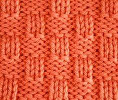 Knitting Galore: Saturday Stitch : Basket Weave