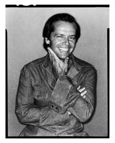 Jack Nicholson  photographed by David Bailey 1978